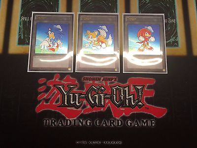 Sonic The Hedgehog And Tails (Sonic The Hedgehog Tokens Custom Ultra Rare Yugioh Tokens (Tails and)