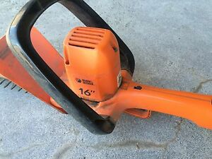 "16"" Hedge trimmer. Black & Decker Kawartha Lakes Peterborough Area image 1"