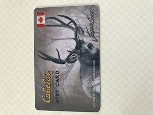 Cabela's gift card $250 for $225