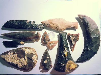 Maxi Steinzeit Set Experimentelle Archäologie (Nachbau) flint knapping B-WARE