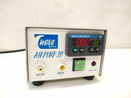 GE Healthcare Wave Biotech Airpump 20 w/ Power Supply