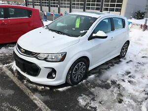 2017 Chevrolet Sonic LT Auto RS, WI-FI, SUNROOF, 1.4L TURBO,...
