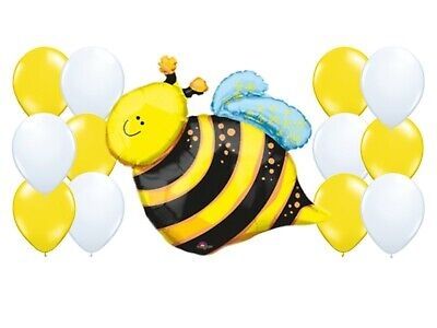 Balloon Decoration Ideas, Baby Shower Balloon Kit, What Will It Bee, Gender](Baby Shower Decorations Ideas)
