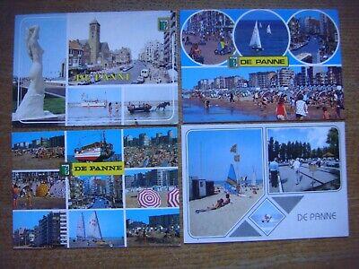Lot de 16 cartes de DE PANNE - LA PANNE