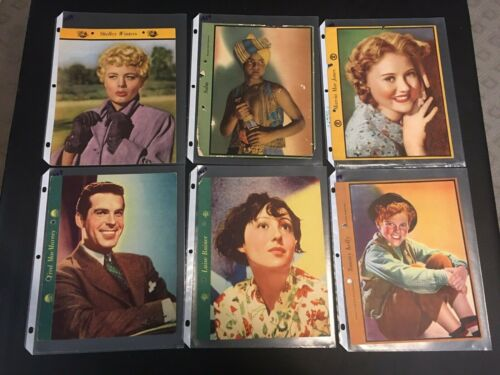 Lot of 6 1930