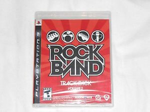 NEW Rock Band Track Pack Volume 2 Playstation 3 Game PS3 SEALED rockband songs