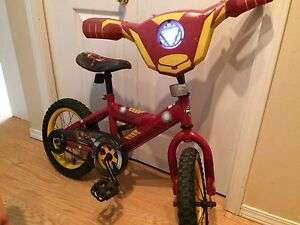 Iron man bike for 5-7 year old