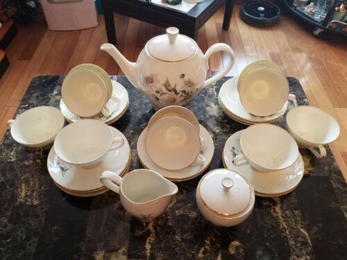 RARE VINTAGE RICHARD GINORI TEA SET FOR 10