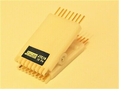 Dip Ic Test Clip 16-pin Jameco Electronics Jtc16