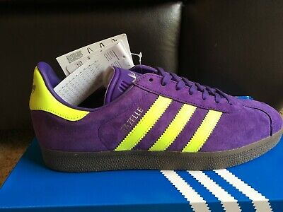 adidas gazelle in malmo purple colour size 9 new with tags