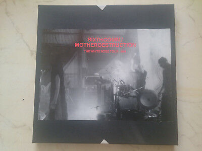 SIXTH COMM / MOTHER DESTRUCTION The White Rose Tour 1994 DEATH IN JUNE *CD BOX*