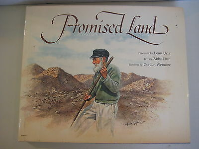 Promised Land Leon Uris, Text By Abba Eban, Printings By Gordon Wetmore Book