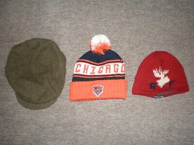 Used, ASSORTED HAT LOT POLO RALPH LAUREN / CHICAGO BEARS / ABERCROMBIE&FITCH  for sale  Bethlehem
