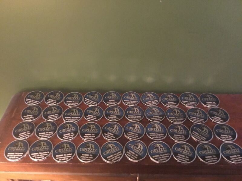 GRIZZLEY MINT Lot Of 40 Dip Can Lids - Crafts,Hobby