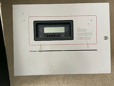 Simplex 6400 Complete Time Control Center Master Panel