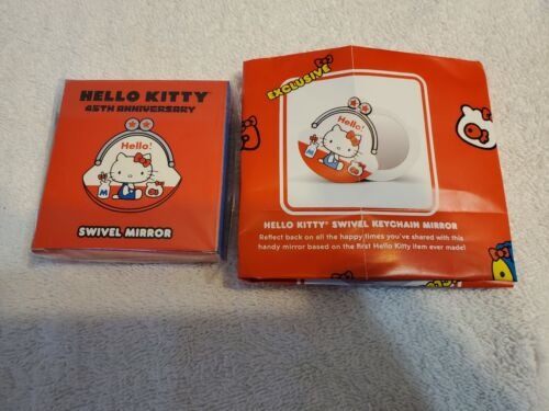 *Loot Crate Exclusive* Sanrio Hello Kitty 45th Anniversary Swivel Mirror