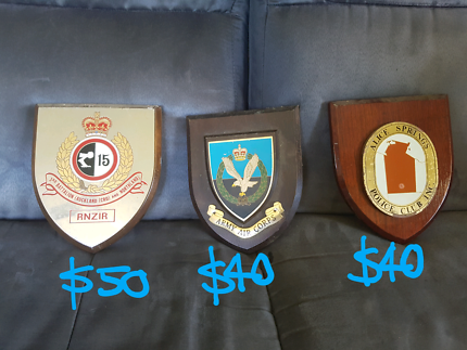 Army & police plaques from $40 each Joyner Pine Rivers Area Preview