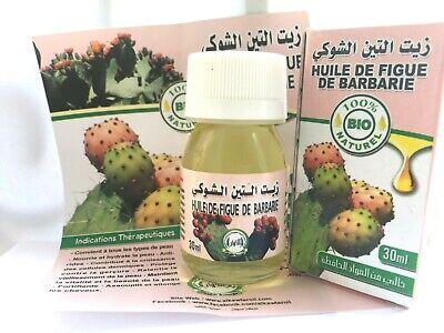 Aceite de Higo Chumbo BIO 100% Puro y Natural 30ml Prickly Pear...