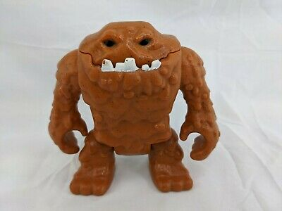 """Fisher Price Imaginext Clayface Brown Figure 5"""" W1713"""