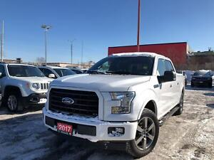 2017 Ford F-150 XLT**4X4**SUPERCREW**NAVIGATION**BACK UP CAM**