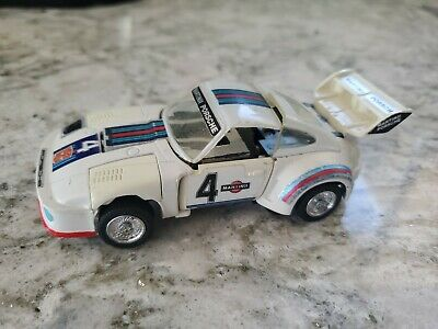 Vintage 1984 Takara Hasbro Porsche 935 Turbo Transformer Figure Jazz Martini #4