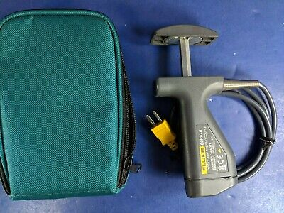 Fluke 80pk-8 Pipe Clamp Temperature Probe Mint Condition Soft Case