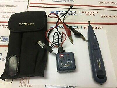 Fluke Networks Pro3000 Tone Generator Probe Kit With Carry Case