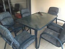 BBQ Outdoor setting, out door table & 6 chairs Lutwyche Brisbane North East Preview