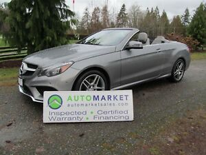 2014 Mercedes-Benz E350 E350 CABRIOLET, LOADED, INSP, WARR