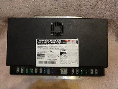 Whelen Competitor Series Plus Model Csp8 180 W 8 Lamps Strobe Power Supply
