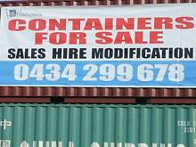40FT SHIPPING CONTAINERS SALE ON NOW BE QUICK WHILE OFFERS LAST!! Bendigo Region Preview