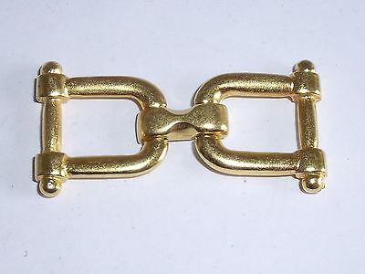 2 Stück Zierteile Metall Trachten Applikation gold NEUWARE rostfrei 788.2