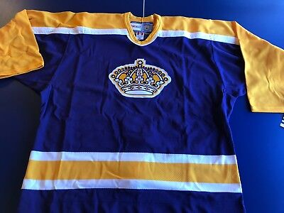 #LA #KINGS 1998 YEAR #CCM #AUTHENTIC #Licensed #JERSEY SIZE 52 #MAKEOFFER #NEW for sale  Brian Head
