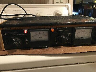 Vintage Bk Precision Regulated Dc Power Supply Model 1601. Used