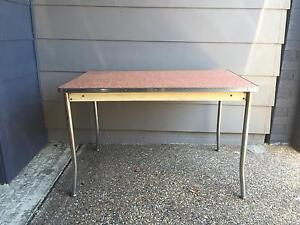 50's Pale Pink Formica Table Adamstown Newcastle Area Preview