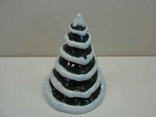 "YANKEE CANDLE 9"" CHRISTMAS TREE TEA LIGHT CANDLE HOLDER"