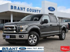2016 Ford F-150 XLT CREW 4X4 5.0L V8 TRAILER TOW