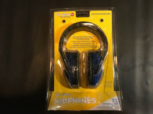 Vic Firth KIDP Kidphones 22 decibel headphone hearing protection for kids new