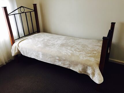 Single bed frame steel and timber  Prospect Prospect Area Preview