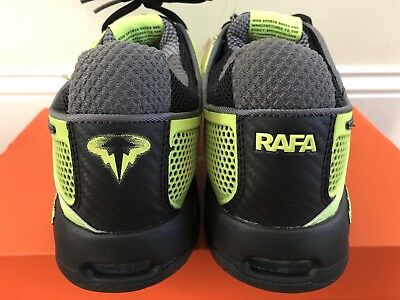 6729d1db74ff Glow in dark 2010 nike courtballistec 2.3 Nadal tennis shoes federer sz7.5  read!