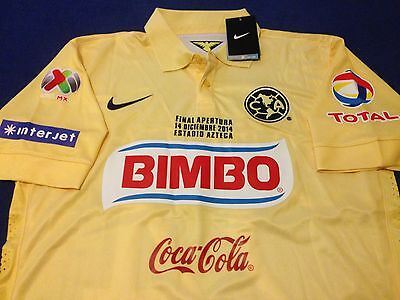 AMERICA SOCCER JERSEY MICKY ARROYO FINAL APERTURA 2014 MENS M MEXICO CHIVAS image