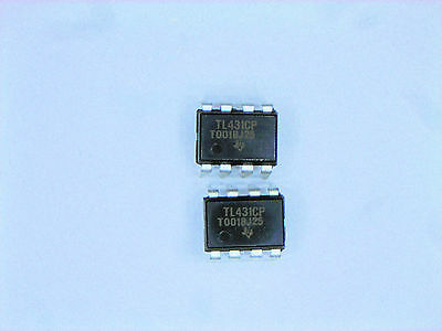 Tl431cp Original Ti 8p Dip Ic 2 Pcs