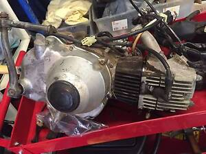 1991 CT110 complete engine, carby and electrics, wiring harness Sylvania Waters Sutherland Area Preview
