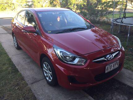 2013 Hyundai Accent Sedan   Aitkenvale Townsville City Preview