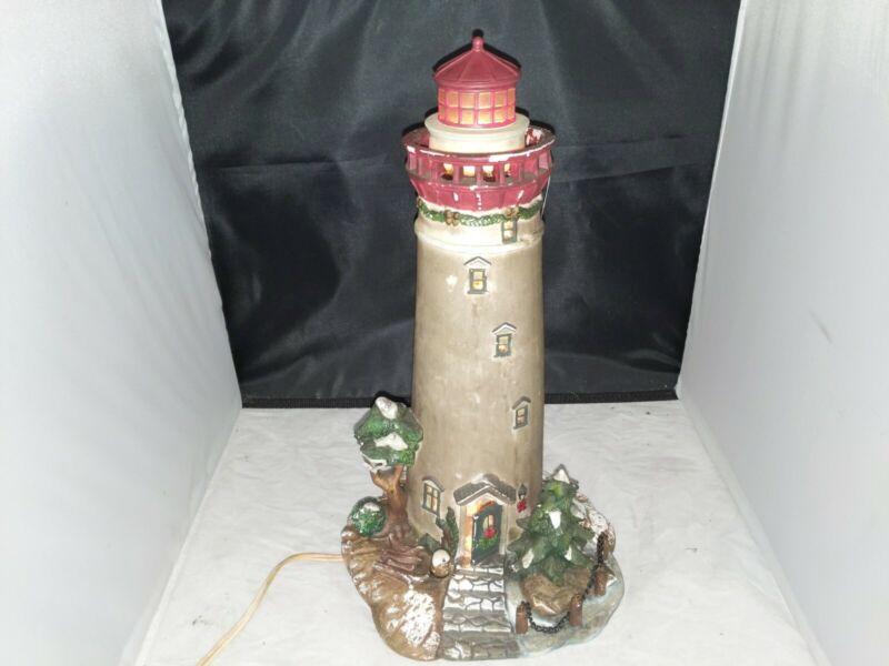 Christmas Lighthouse, O