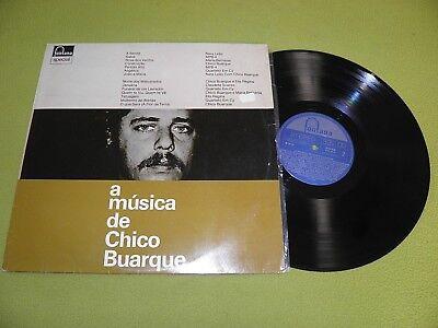 Chico Buarque - A Musica De - RARE LP Brazil Bossa Samba / Nara Leao / Bethania comprar usado  Enviando para Brazil
