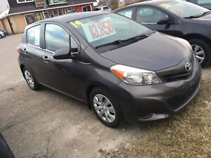 "2014 Toyota Yaris LE ""EXTREMELY LOW KMS!"""