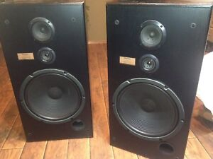 Floor tower speakers