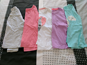 Girls size 4 long sleeve shirts Quakers Hill Blacktown Area Preview