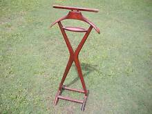 "1940's Wooden Coat ""Valet"" Stand $310 Albion Brisbane North East Preview"